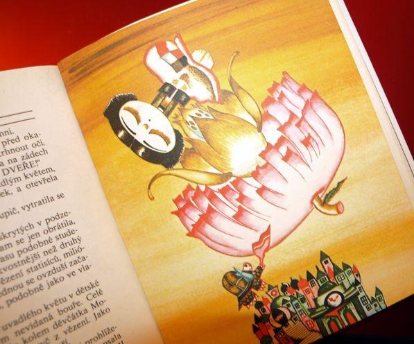 Michael Ende: Děvčátko Momo a ukradený čas. Ilustrace Věra Pacovská