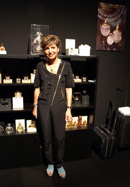 Věc Makropulos Martine Micallef (foto z roku 2012) a její muž vytvořili luxusní  pánskou kolekci pod jménem G. Nejmann