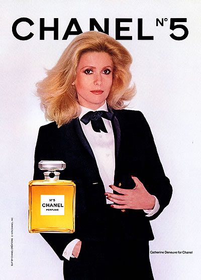1976 avedon catherine denuve by chanel no. 5