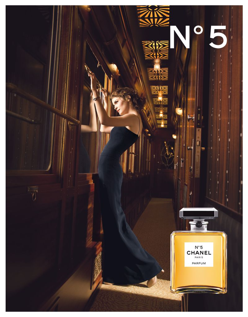 2009 Audrey Tautou Chanel NO.5 Dominique Issermann