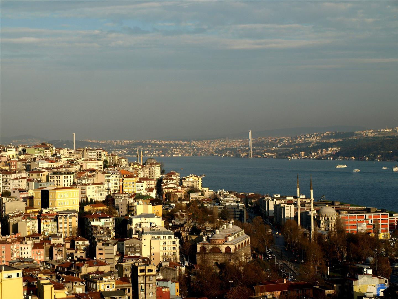Pohled z Galatské věže