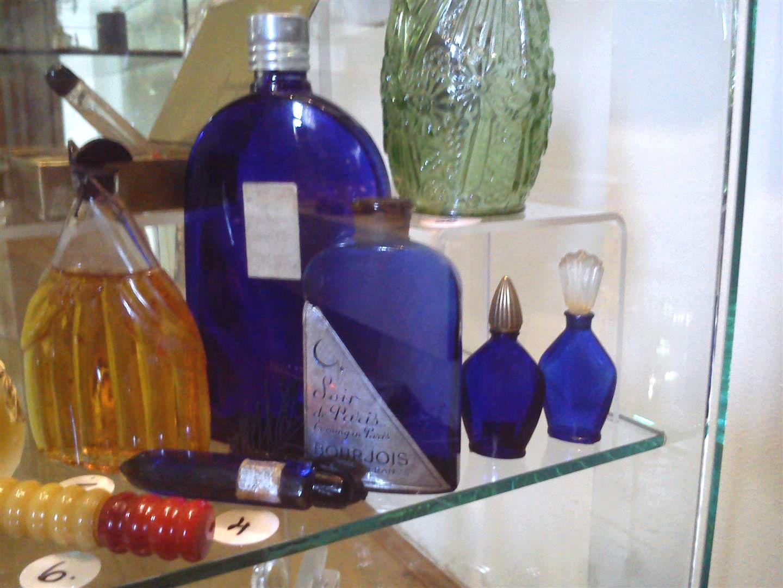 historic perfume glass bottle  (11)