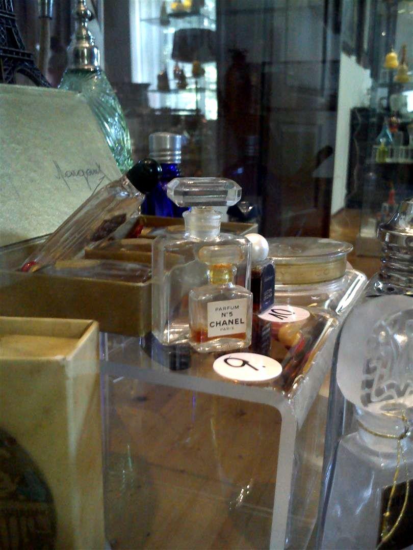 historic perfume glass bottle  (6)