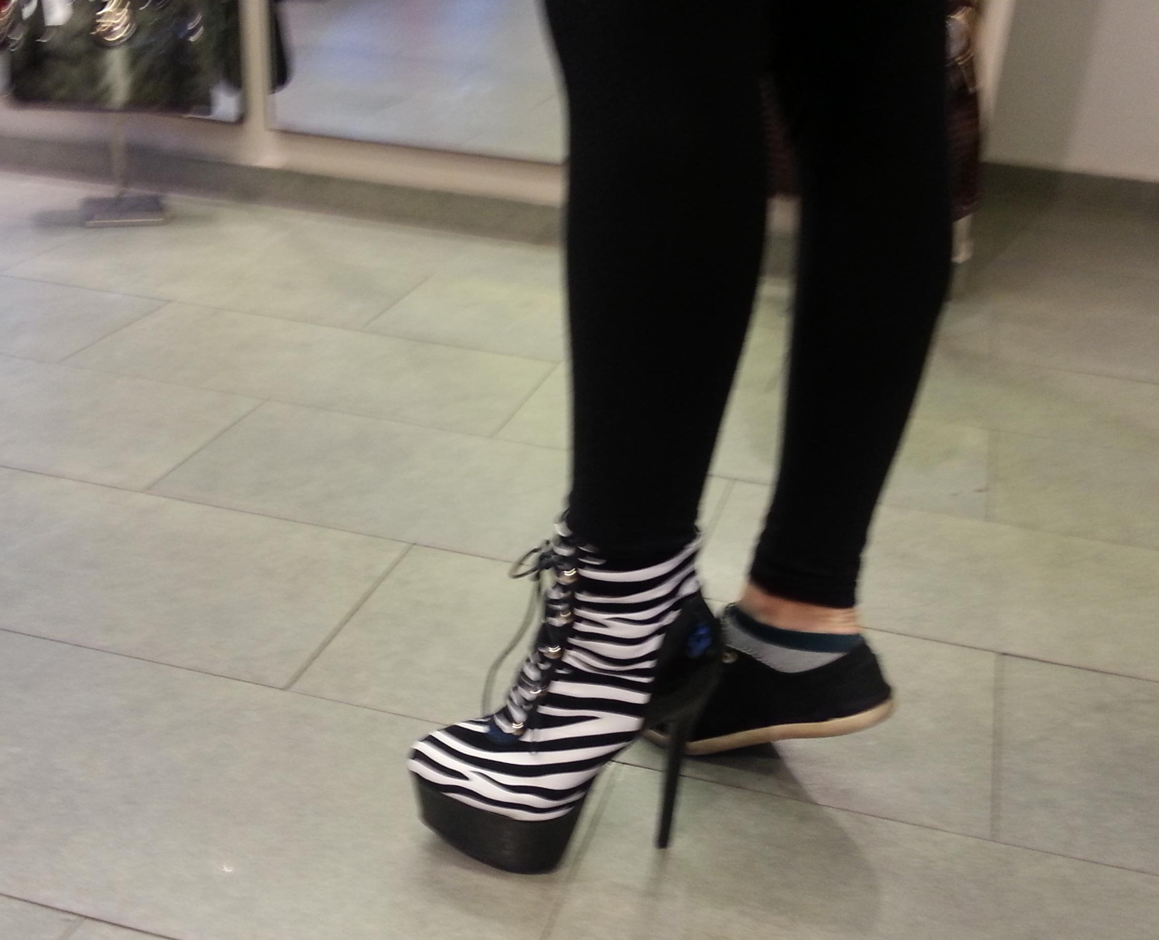 Tak tyhle boty jsem Martě nakonec nekoupila.