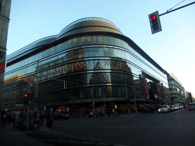 Kolos Galleries Lafayette v Berlíně