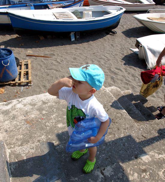 Všude v Itálii u moře to teda nevoní.