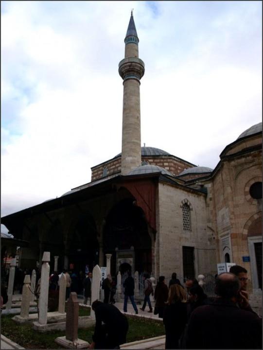 Konya, dvůr tekke