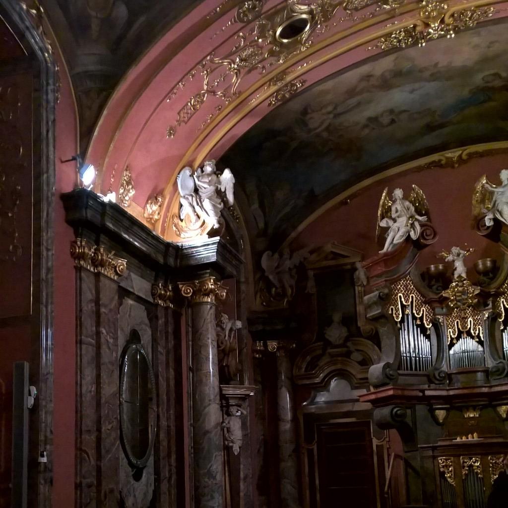 Klementinum - Zrcadlová kaple