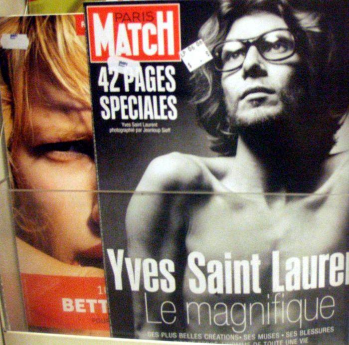 1971: Paris Match otiskl mužkou bradavku na titulní straně. Tedy skoro.