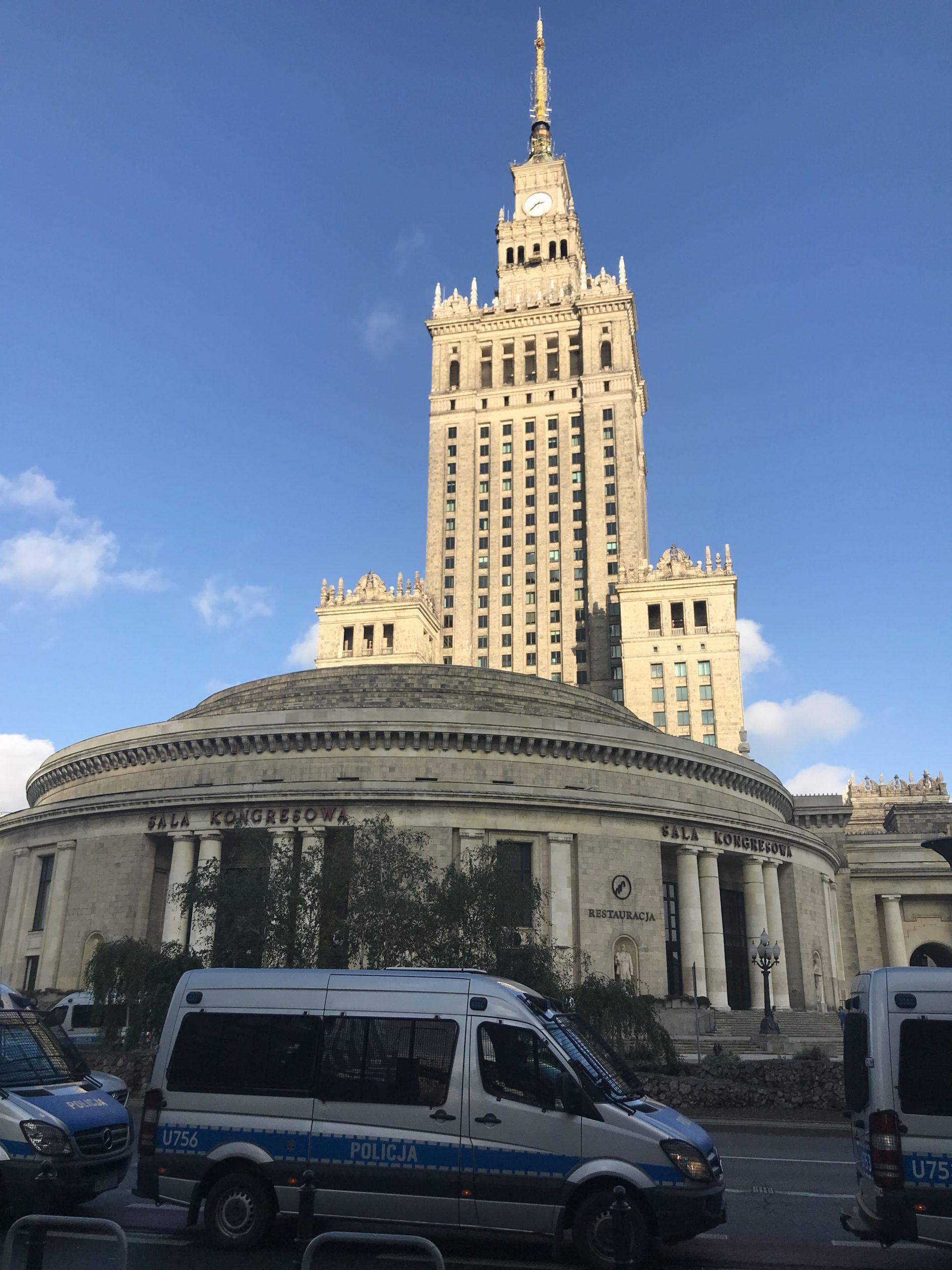 Varšava Stalinův fakáč