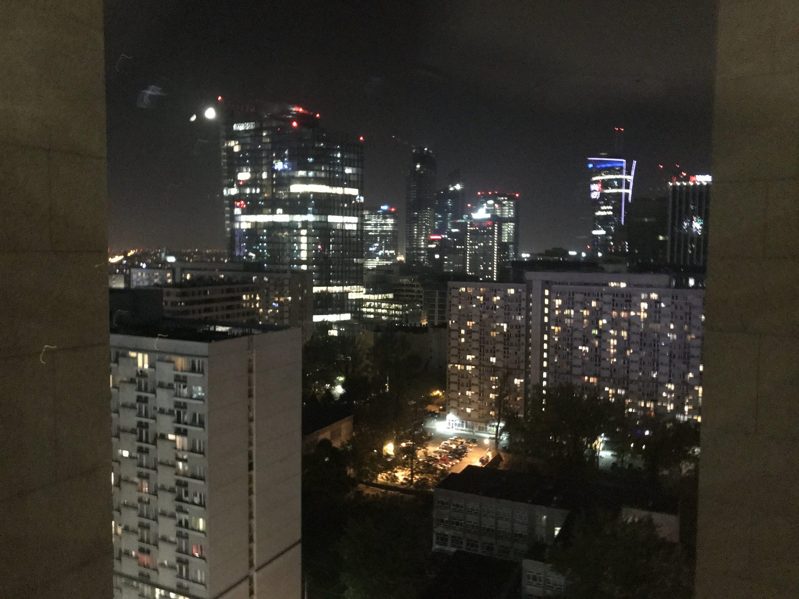 Varšava noční