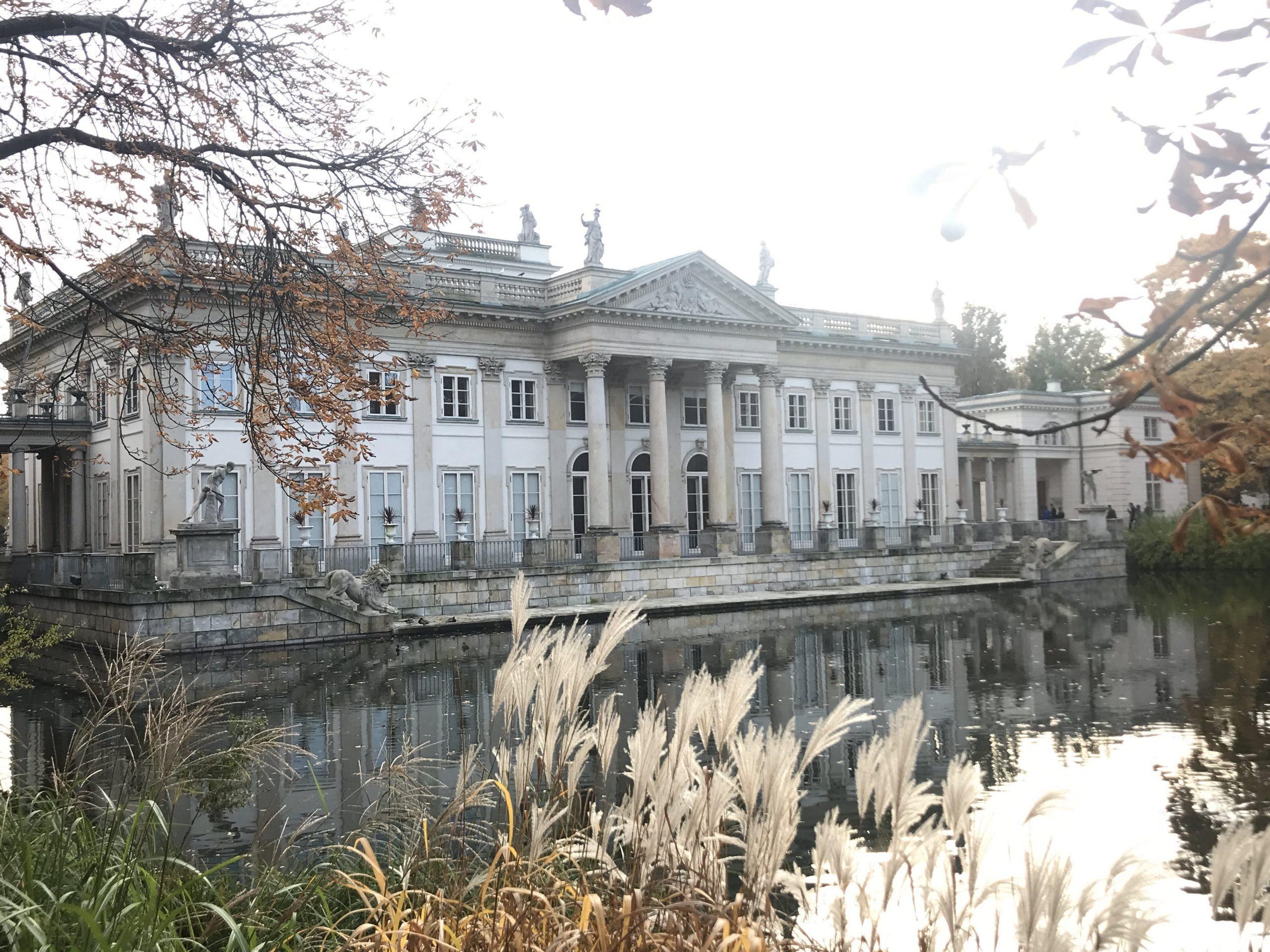 Varšava letní královský palác