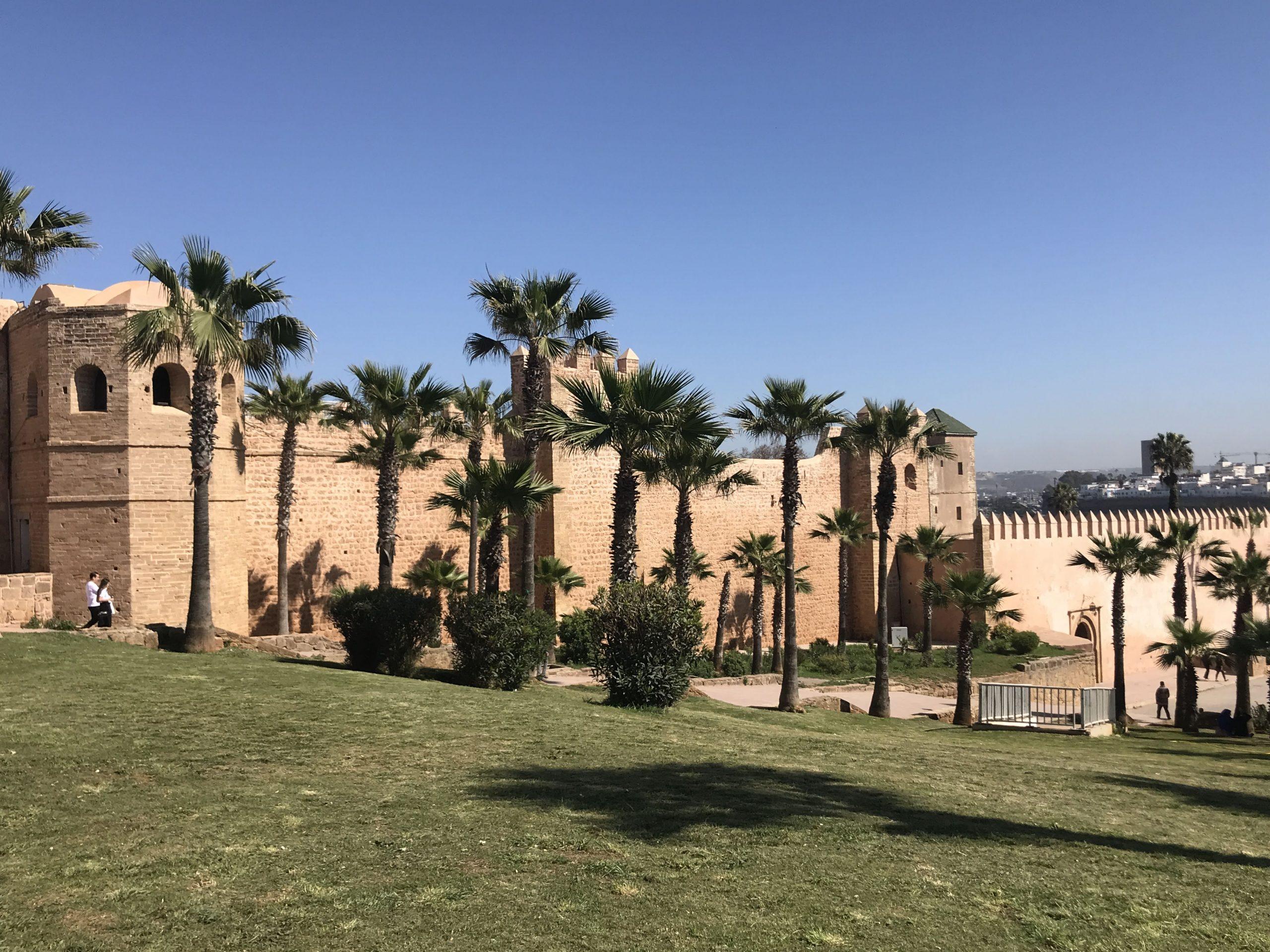 Andaluské zahrady v Rabatu